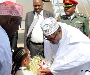 Nigeria's Buhari Visits Kano State