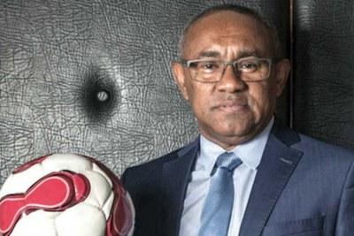 Le président de la  CAF Ahmad Ahmad