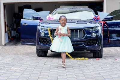 Prophet Bushiri's five-year-old daughter, Israella Bushiri.