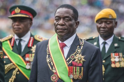 Zimbabwe President, His Excellency Emmerson Mnangagwa.