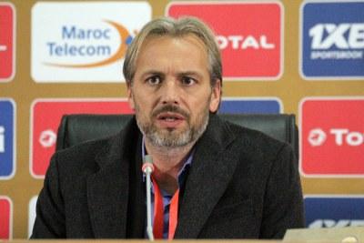 Uganda Cranes coach Sébastien Desabre.