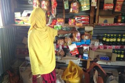 Store in Loglogo village, near Marsabit town (file photo)