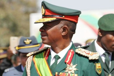 Zimbabwe Defence Forces Commander General Phillip Valerio Sibanda.