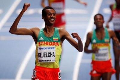 Mondiaux de Birmingham: Kejelcha champion du monde sur 3000m