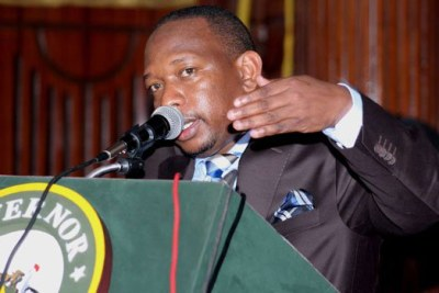 Nairobi Governor Mike Sonko.