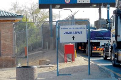 Beitbridge Border Post.