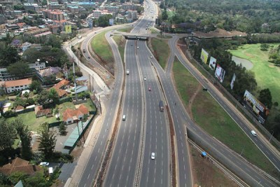The multi-lane, modern Nairobi-Thika super highway (file photo).