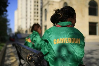 Une Athlète Camerounaise