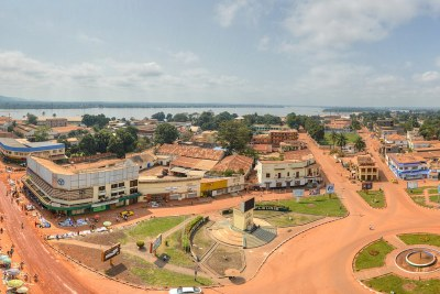 Bangui in 2014.( archive)