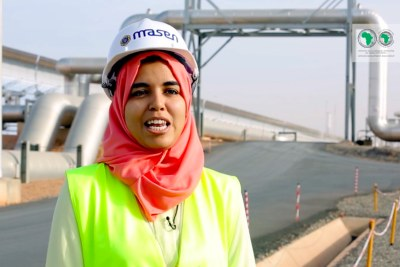 Nadia Ahansal Operations and maintanance engineer, Moroccan Agency for Sustainable Energy, MASEN.