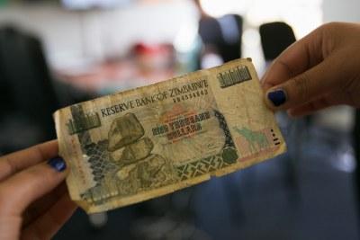 Zimbabwean dollar.