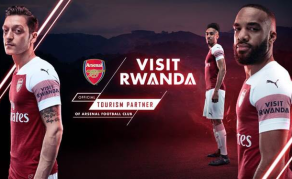 Arsenal Partners With Rwanda to Build Tourism Industry