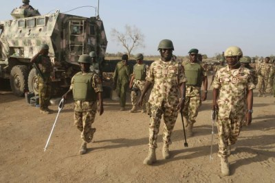 Nigerian army (file photo).