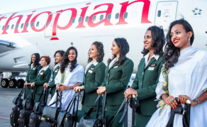 Historic Flights from Ethiopia to Eritrea Takeoff