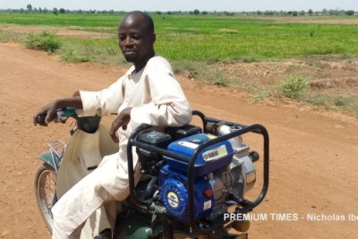 Farmer Yusuf Usman.