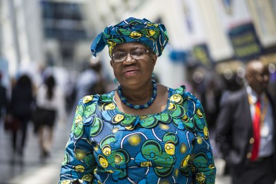 Dr. Ngozi Okonjo-Iweala, Chairperson of the African Risk Capacity Agency Governing Board, at the AfDB Annual Meetings in Busan, South Korea, May 2018.