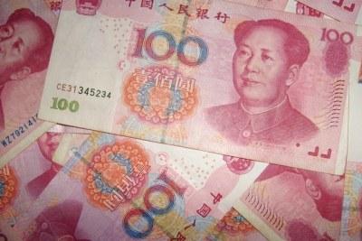 Chinese Rheminbi (Yuan) (file photo).