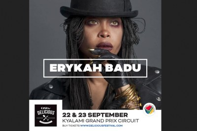 We are proud to announce that, four time Grammy award winner, Erykah Badu will be joining us at this year's festival.