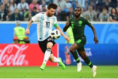 Match mondial 2018 Argentine / Nigéria