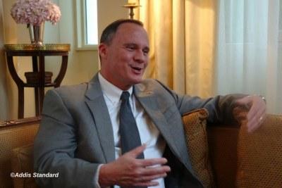 U.S. Ambassador to Ethiopia Mike Raynor.
