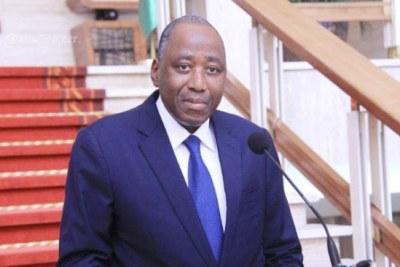 Le Premier ministre ivoirien Amadou Gon Coulibaly