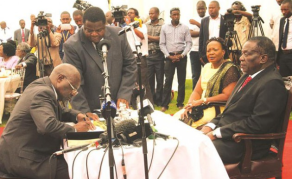 Mnangagwa Suspends Prosecutor General Goba