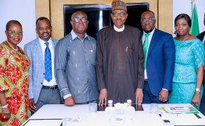 Buhari Hails the 'Quality' of Nigerians in the Netherlands