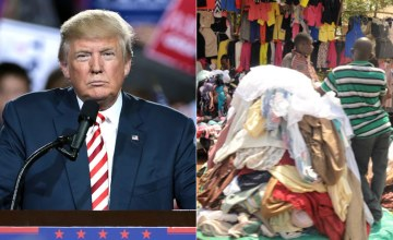 Trump Makes Rwanda Pay Duty For Clothes Exports to U.S.