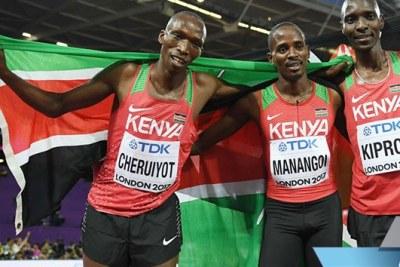 L'équipe du Kenya d'athlétisme a remporté les 21-èmes championnats d'Afrique seniors  avec un total de 19 médailles, dont 11 en or.