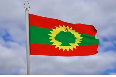 The flag of the Oromia region.