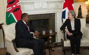 Les enjeux de la visite de May au Kenya
