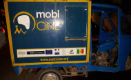 Building Community Support for Drug Users using Mobile Cinemas