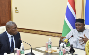 Président Adama Barrow pour plus d'intégration des populations africaines