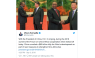 Kenya's Fuel Levy, Debt to China and The Cash in That Backpack