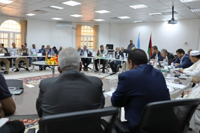 The meeting facilitated by the UN Support Mission in Libya.