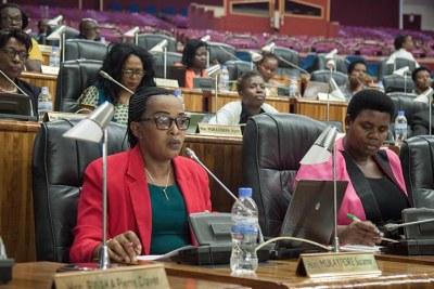 Women in parliament (file photo).