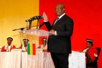 le président Keïta prête serment pour un second mandat