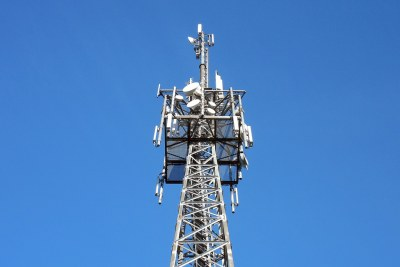 Telecoms transmission tower