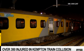 Hundreds Injured in Train Collision in South Africa