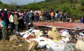 50 People Killed as Bus Traveling From Nairobi Crashes