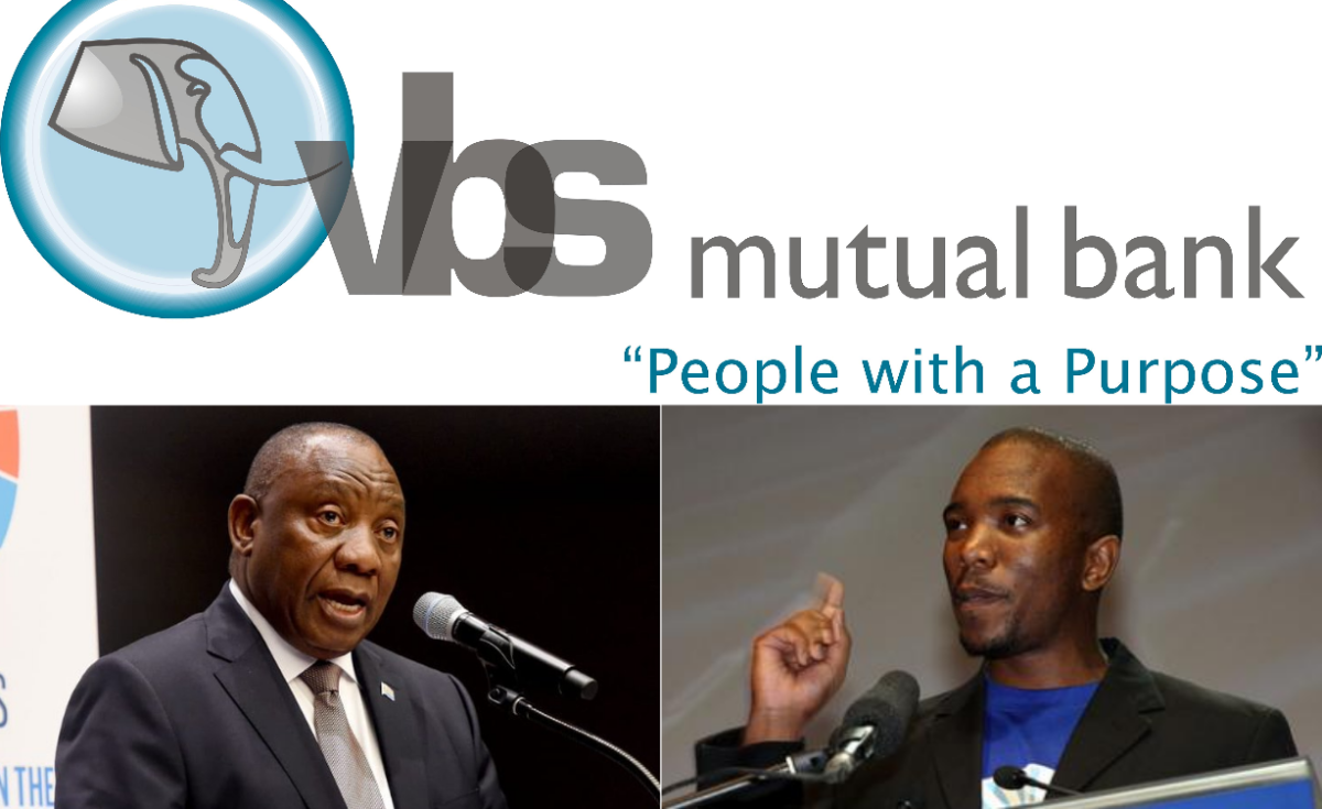 Ramaphosa Must Come Clean on VBS Bank Scandal - Opposition Leader