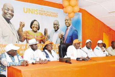 Élections locales: ''La victoire du Rhdp va rassembler toutes les filles et tous les fils de Côte d'Ivoire''