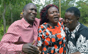 Grief Engulfs Sharon Otieno's Mother as Her Body Arrives Home