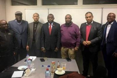 Les membres de l'opposition rd-congolais à Johannesburg, en Afrique du Sud