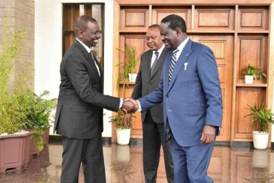 Odinga Turns Back on Kenya's Succession Politics For AU Job