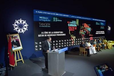 Ouverture officielle des MEDays 2018 dans la soirée du 7 Novembre à Tanger, Maroc