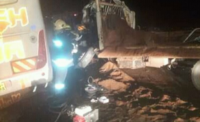 Two Dead, Nine Injured After Bus Collides With Lorry in Kenya