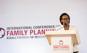 Rwanda's First Lady Urges Govts to Ease Access to Family Planning