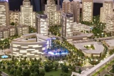3D design of La Gare integrated community development project.