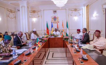 We Must Not Cave in to Terrorists, Buhari Tells Lake Chad Leaders